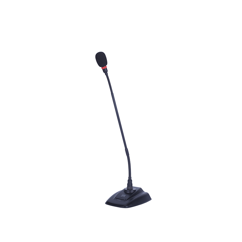 Wired gooseneck conference microphone